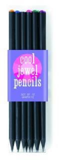 Cool Jewel Pencils - Set of 12
