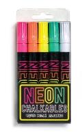 Neon Chalkables Liquid Chalk Markers - Set of 5