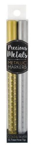 Precious Metals Fine Tip M 2pk