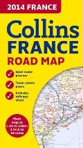 Collins 2014 France Road Map