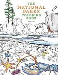 coloring for creativity and comfort national parks coloring book