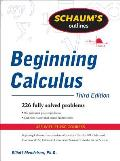 Schaums Outline of Beginning Calculus Of 3rd Edition