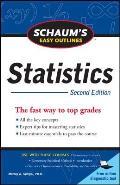 Schaum's Easy Outline of Statistics, Second Edition
