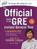 GRE the Official Guide to the Revised General Test , Second Edition