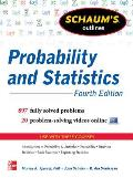 Schaums Outlines Probability & Statistics 4th Edition