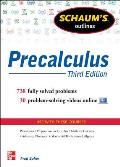 Schaums Outline of Precalculus 3rd Edition