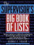 Supervisors Big Book Of Lists