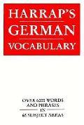 Harraps German Vocabulary