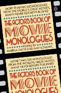 Actors Book Of Movie Monologues