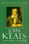 John Keats The Oxford Authors
