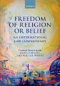 Freedom of Religion or Belief: An International Law Commentary