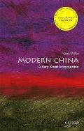 Modern China A Very Short Introduction