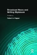 Broadcast News & Writing Stylebook