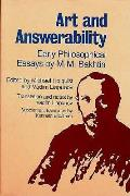 Art & Answerability Early Philosophical Essays