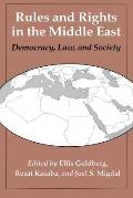 Rules & Rights In The Middle East Democracy Law & Society