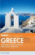 Fodors Greece 10th Edition with Great Cruises & the Best Island Getaways