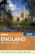 Fodors England 2013 with the Best of Wales