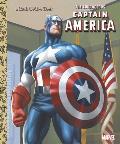 Courageous Captain America Little Golden Book