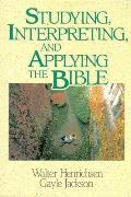 Studying Interpreting & Applying the Bible
