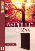 Amplified Bible-Am-Large Print Zipper