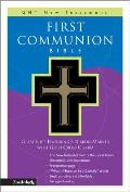 First Communion Bible-GNV-Compact [With Gold Charm on Ribbon Marker]