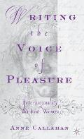 Writing the Voice of Pleasure: Heterosexuality Without Women
