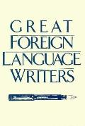 Great Foreign Language Writers