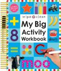 My Big Activity Work Book With 2 Wipe Clean Pens