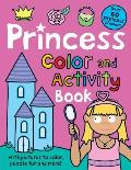 Color and Activity Books Princess