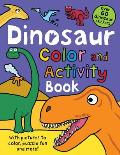Color & Activity Books Dinosaur