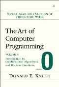 The Art of Computer Programming, Fascicle 0