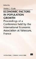 Economic Factors in Population Growth