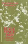 Italy Since 1989: Events and Interpretations