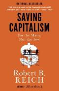Saving Capitalism For the Many...
