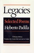 Legacies Selected Poems