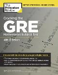 Cracking the GRE Math Subject Test 4th Edition
