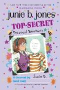 Top Secret Personal Beeswax A Journal by Junie B & Me