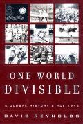One World Divisible A Global History Si
