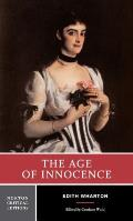 Age of Innocence Authoritative Text Background & Contexts Sources Criticism