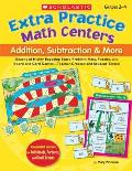 Extra Practice Math Centers Addition Subtraction & More Grades 2 4