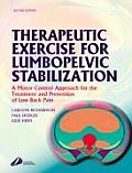 Therapeutic Exercise For Lumbopelvic Stabilization A Motor Control Approach For The Treatment & Prevention Of Low Back Pain