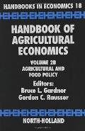 Handbook of Agricultural Economics: Agricultural and Food Policy