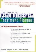 Complete Psychotherapy Treatment Planner