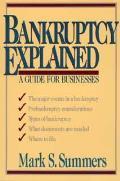 Bankruptcy Explained