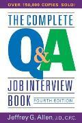Complete Q&A Job Interview Book