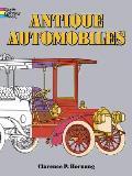 Antique Automobiles Coloring Book