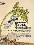 Rackhams Fairy Tale Coloring Book