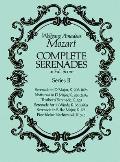 Complete Serenades in Full Score Series II