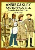 Annie Oakley & Buffalo Bill Paper Dolls in Full Color