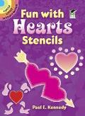 Fun With Hearts Stencils Dover Little A